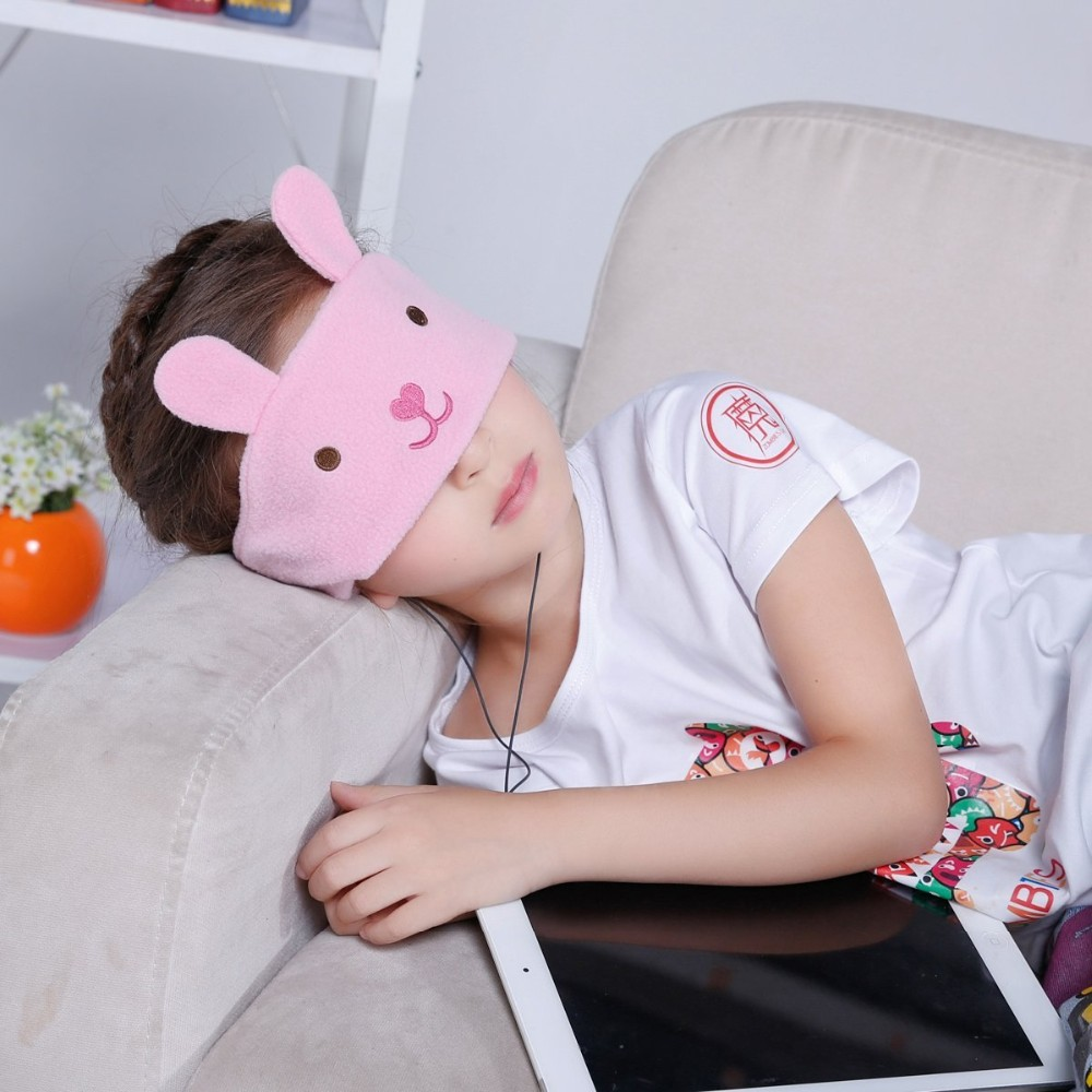 Children Lovely Animals Cartoon Sleeping Headband Ear Phone