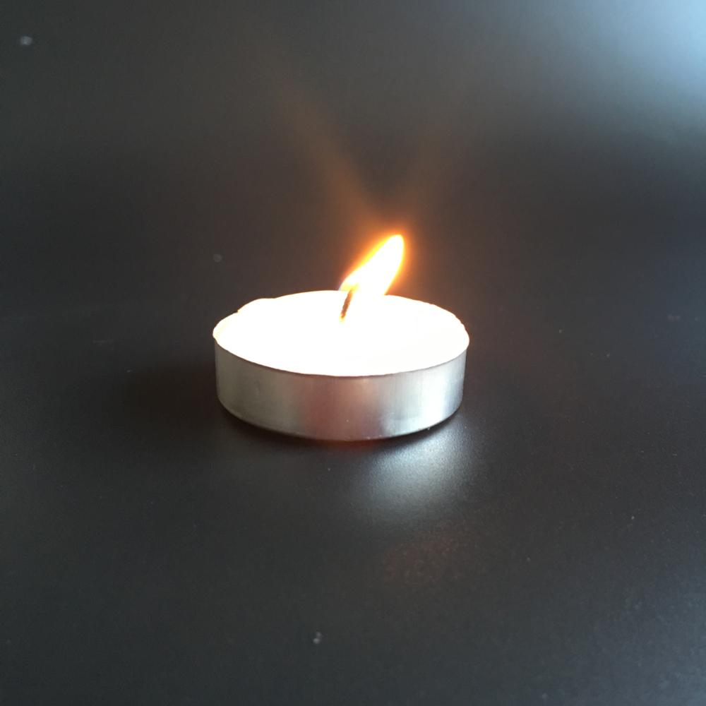 wax tealight candle