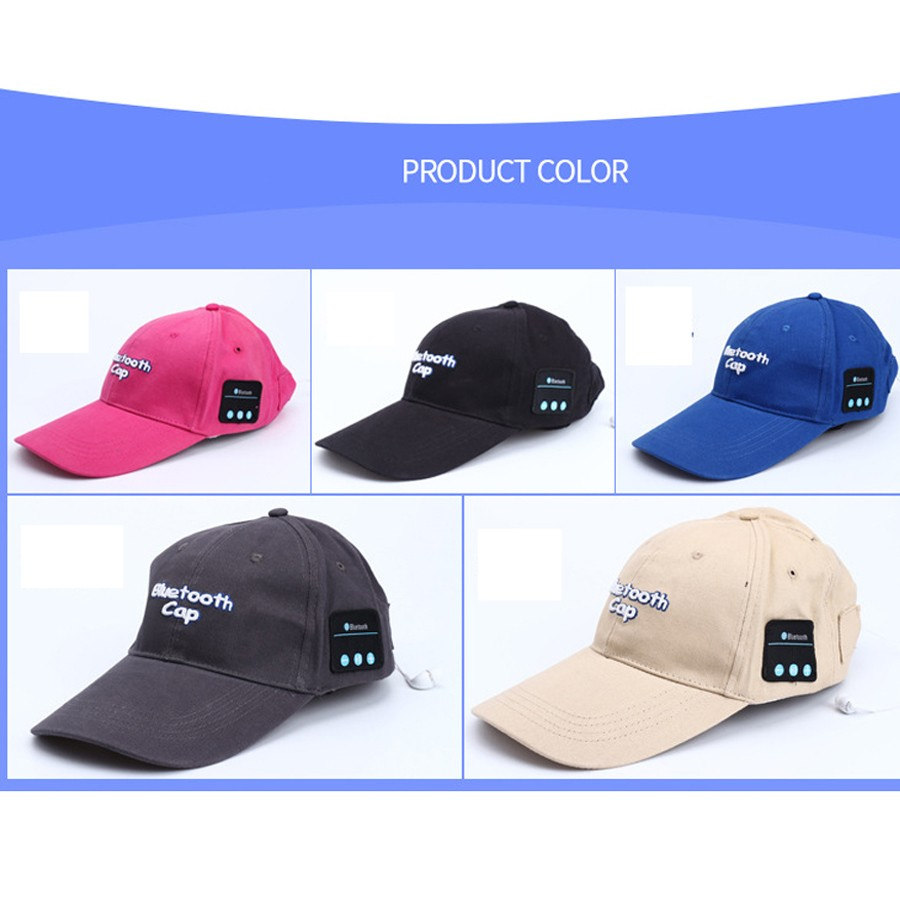 Colorful choose bluetooth cap