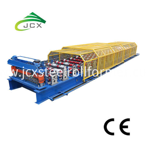 Trapezoidal Sheet Roll Forming Machine-Roof Profile Forming Machine