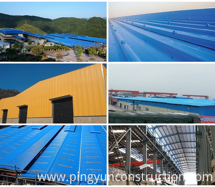 building materials asa pvc roof tiles for warehouse