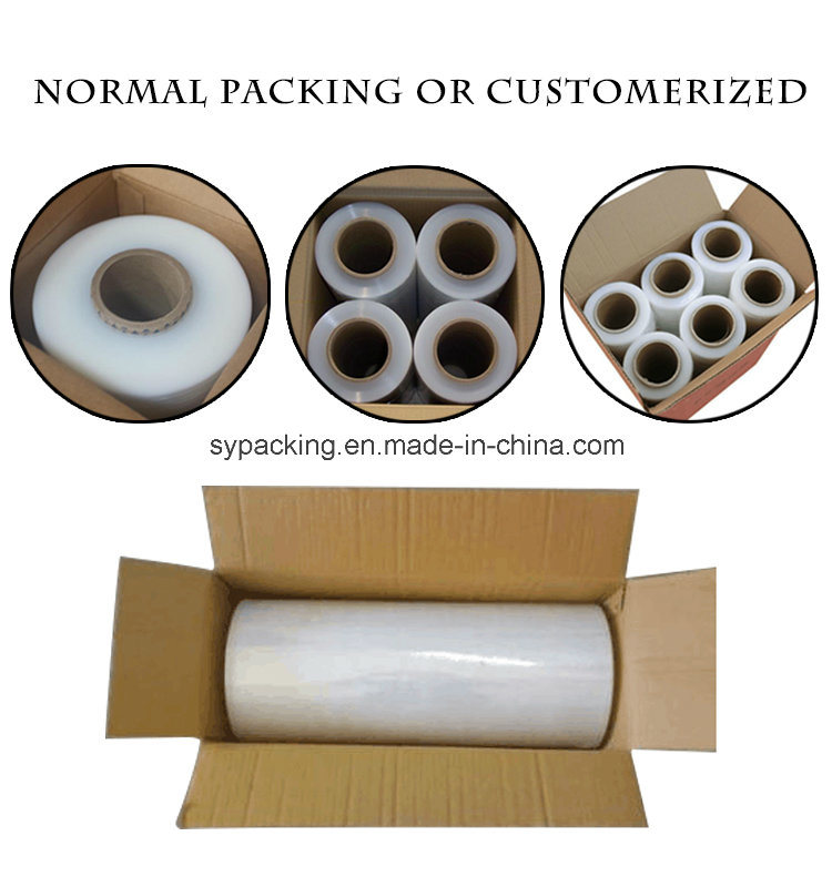 Pallet Wrapping LLDPE Stretch Wrap Film with High Quality
