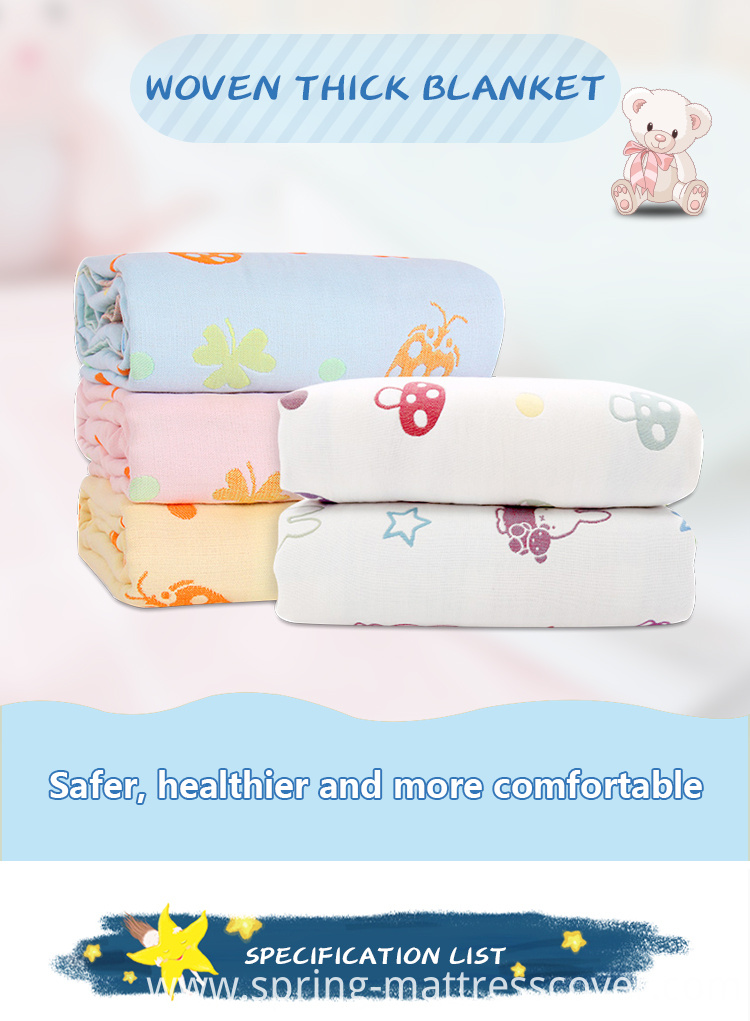 Multilayer Swaddle Blankets