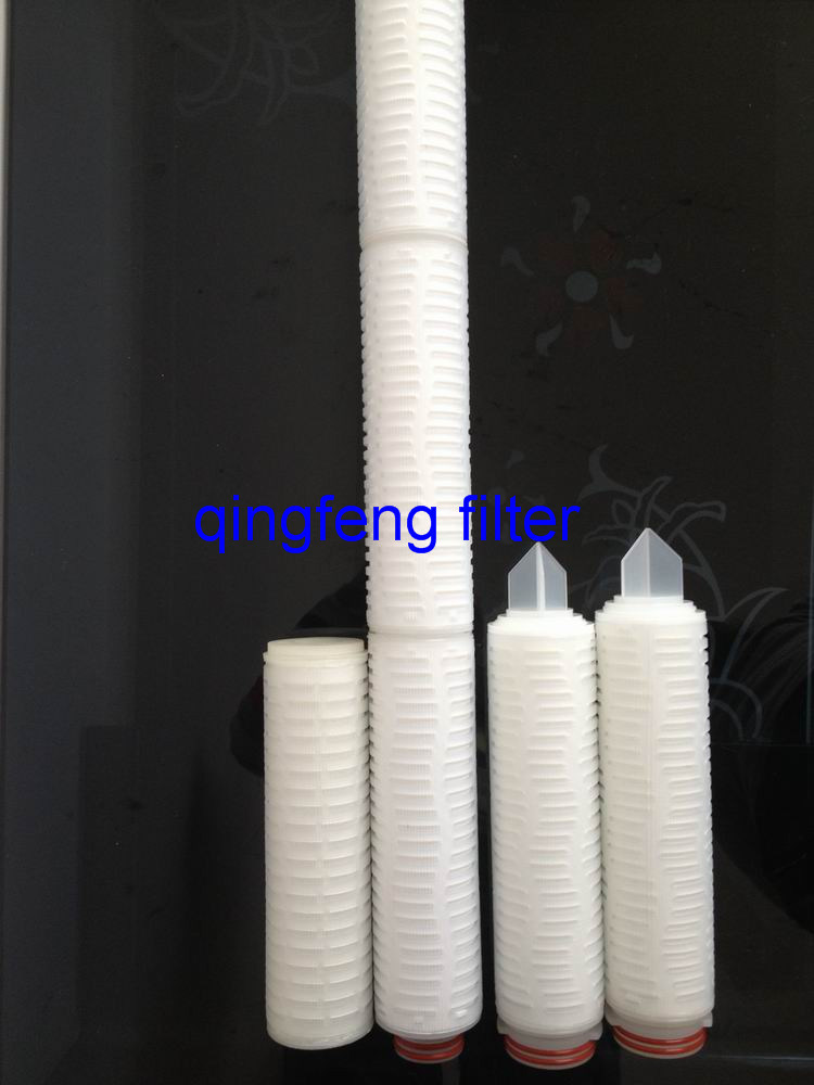 Pes Filter Cartridge for Reduction of Microorganisms in Wine