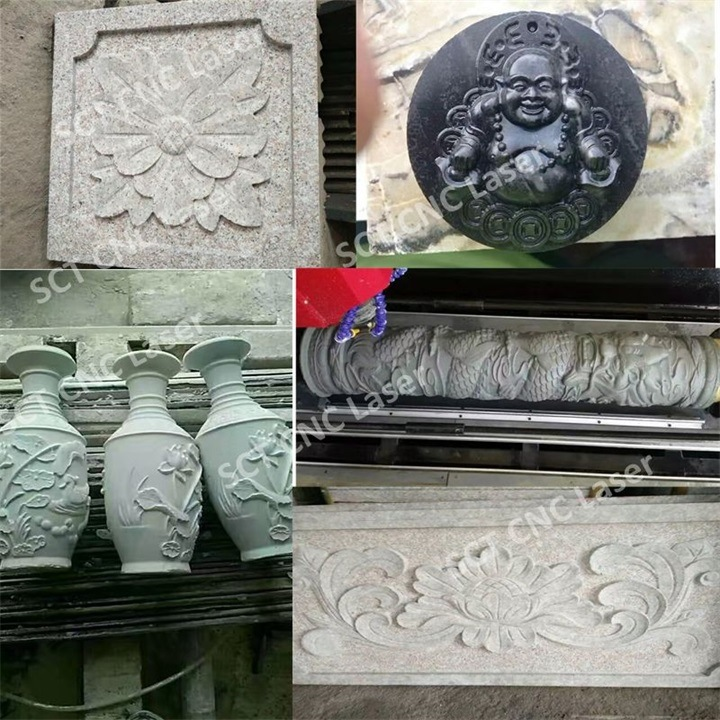Philippines Marble Engraving CNC Machine/3D Carving Stone CNC Router 1325