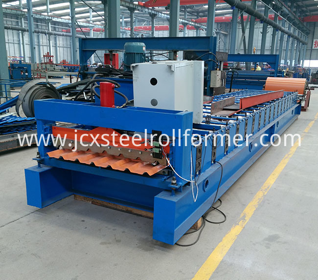 Roofing Sheet Panel Forming Machines Made in China