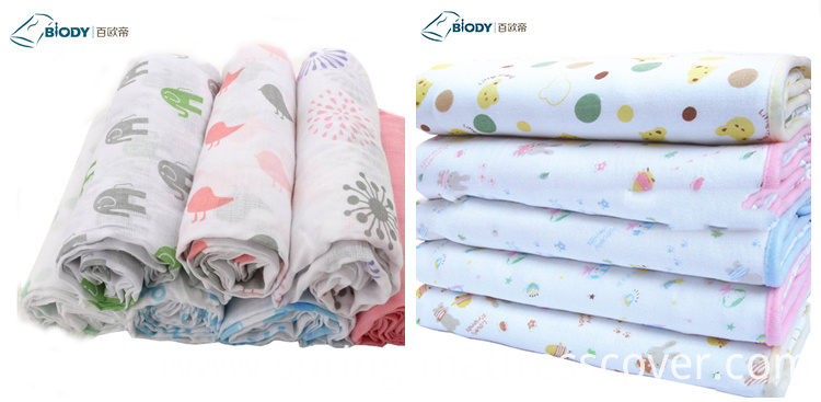 100% Cotton Baby Crib Sheets