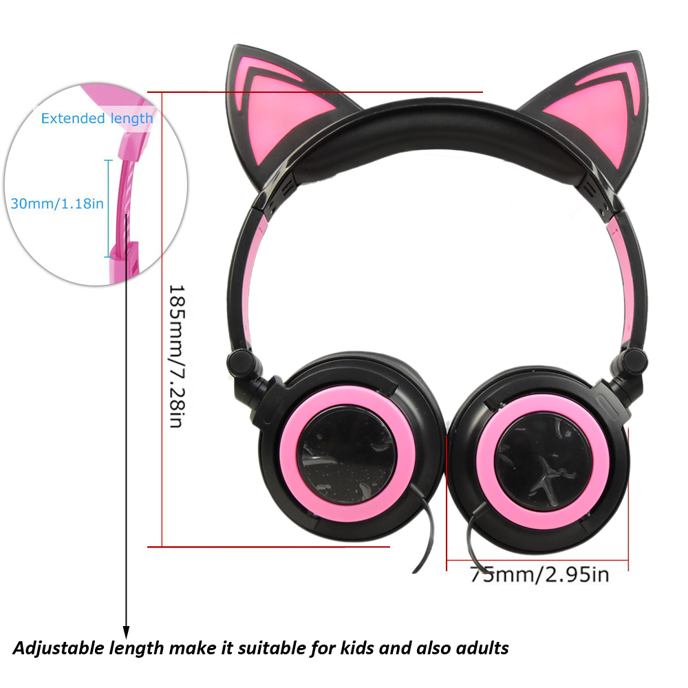 Hot selling cat ear headphone