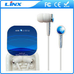 Colorful Logo music earphone