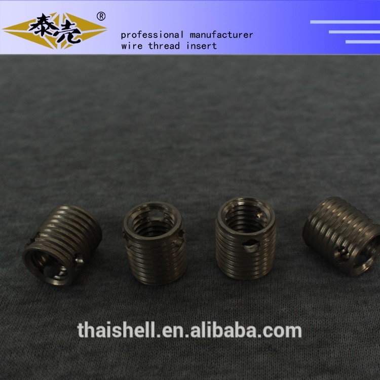 self-tapping screw thread coils