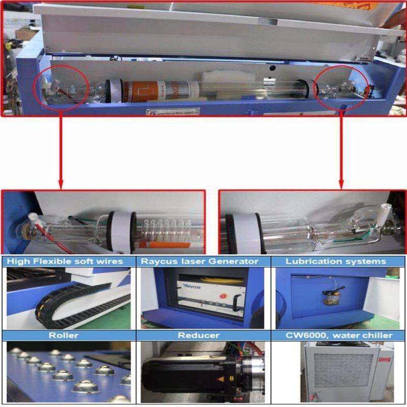 Professional Price Cloth/Leather/Acrylic/Wood CO2 Laser Cutting Machine