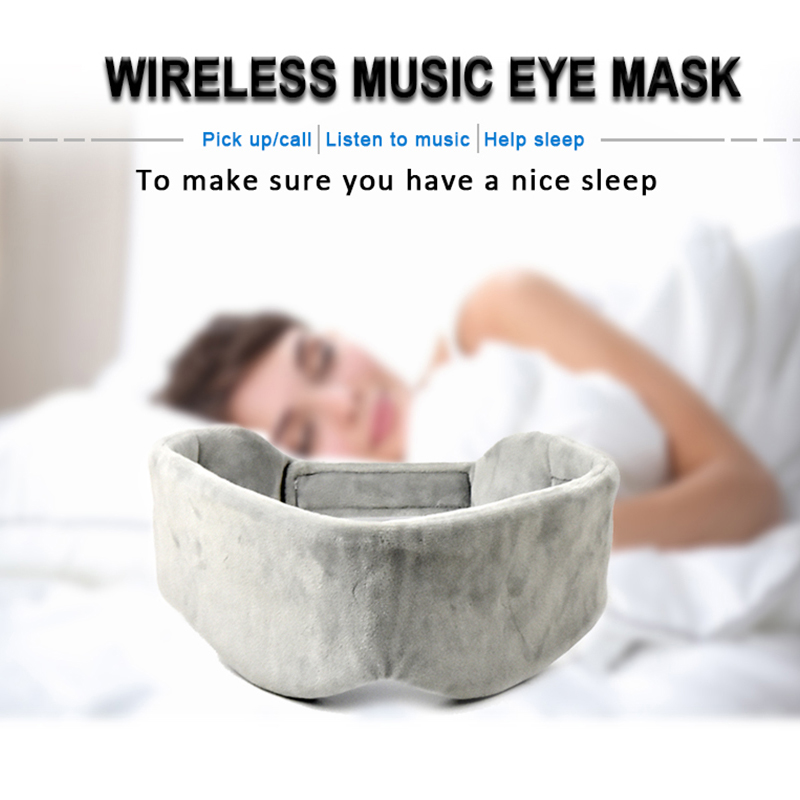 5.0 Noise Cancelling Bluetooth Eye Mask Sleep Headphones
