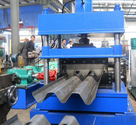 Highway Crash Barrier Roll Forming Machine-Guardrail Roll Forming Machine