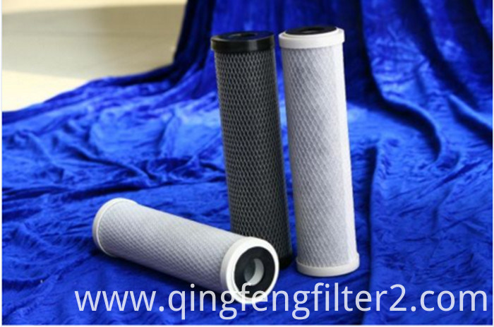 DOE Code 7 Connection 10'' 20'' Activated Carbon Filter Cartridges