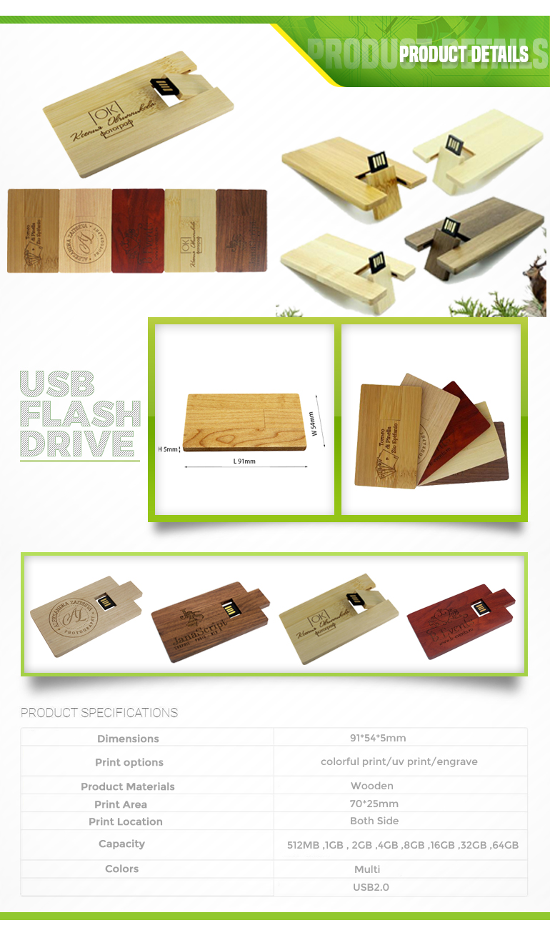 Wooden Usb Pendrive