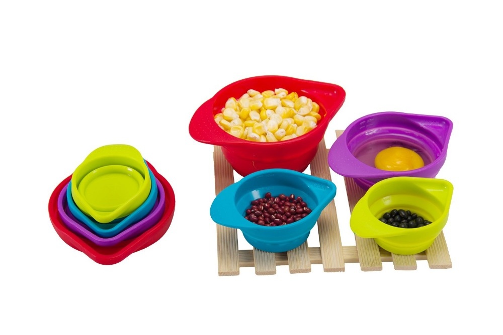 SILICONE MEASURING CUPS