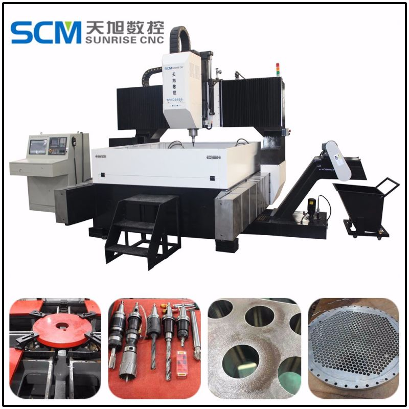 Deep Hole Drilling Machine for Steel Fabrication and Bridges
